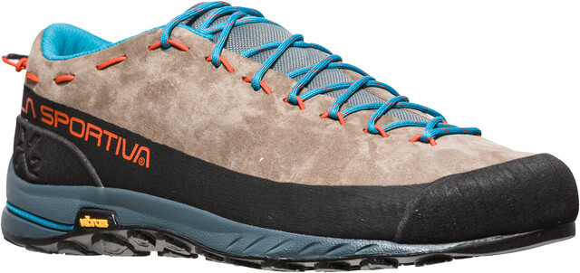 La Sportiva M's TX2 Leather Shoes Falcon Brun/Tangerine